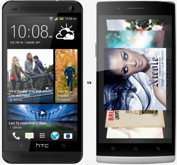 htc one vs oppo find 5 27071
