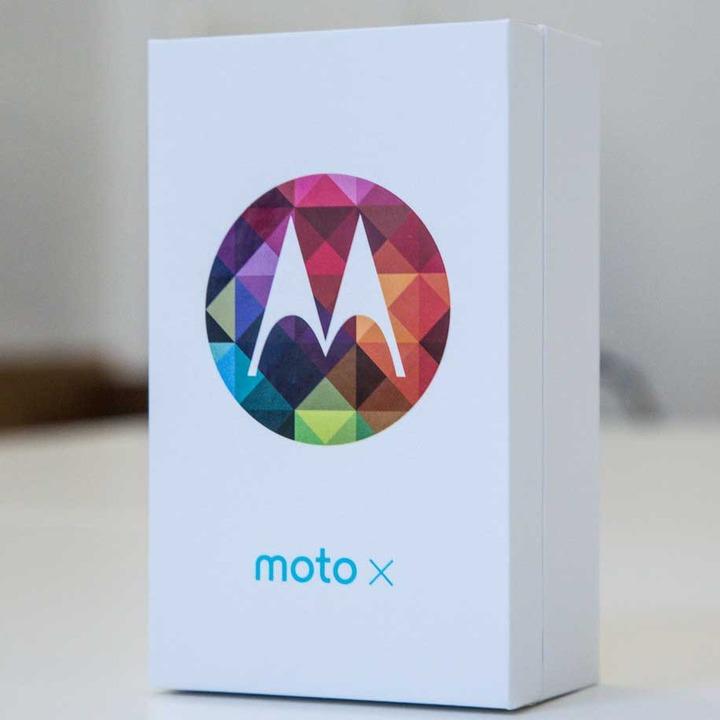 Moto X boite