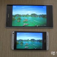 Sony Xperia Z ultra vs HTC One 13085