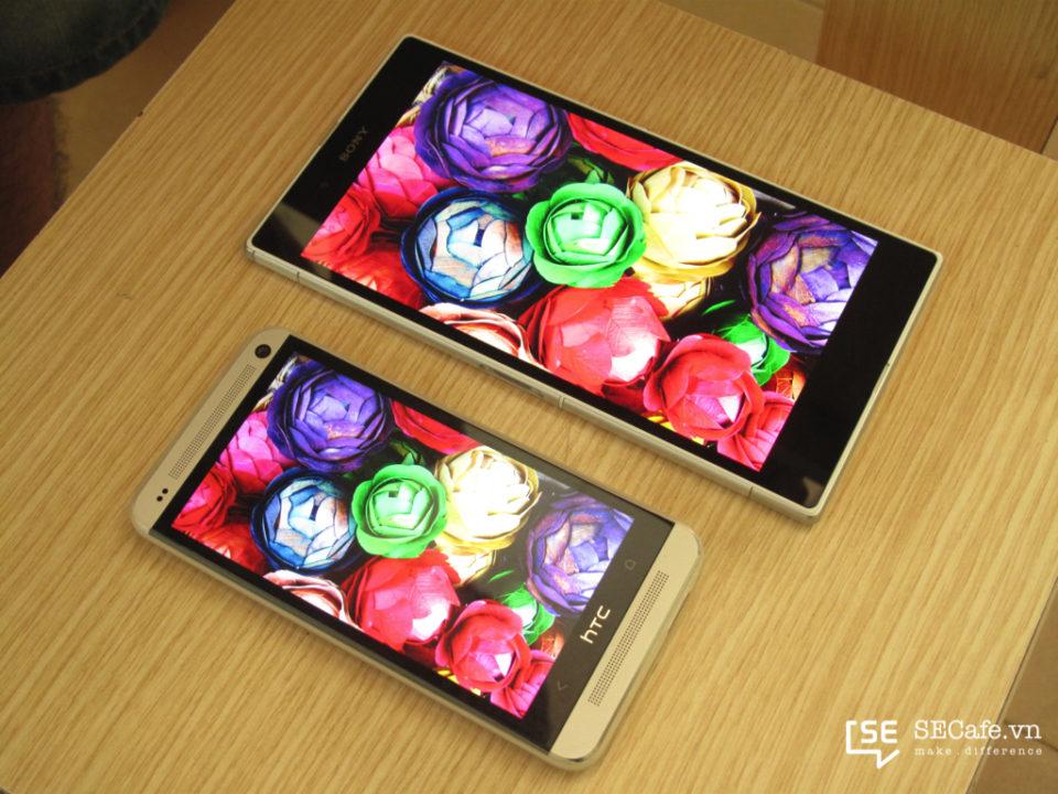Sony Xperia Z ultra vs HTC One 13087