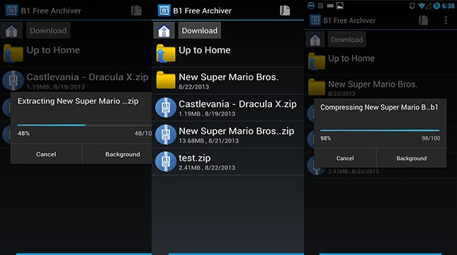 application zip rar android 280806