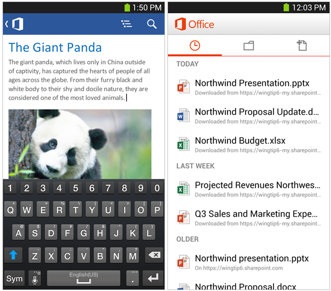 microsoft office android 01081