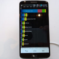 score benchmark LG G2 0808951