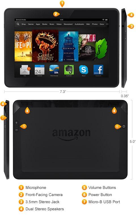 Amazon Kindle Fire HDX 250956