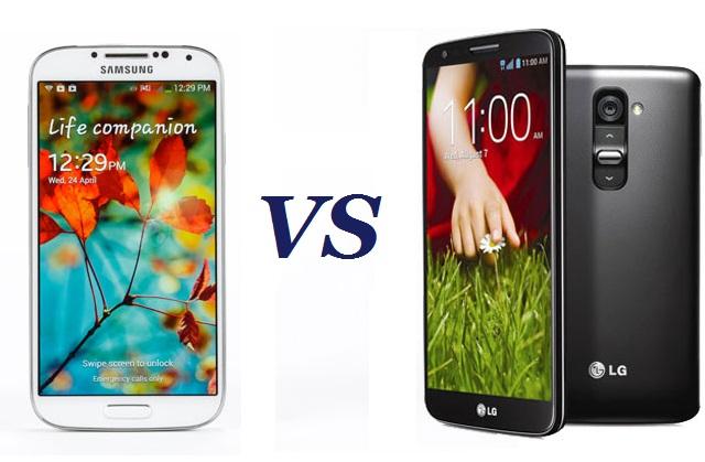 LG G2 vs Galaxy S4 030925