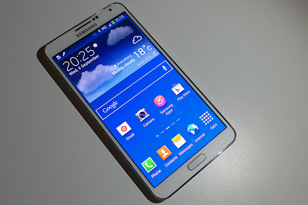 galaxy note 3 prise en main 09094