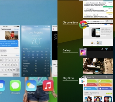 iOS 7 vs android 4.3 190902