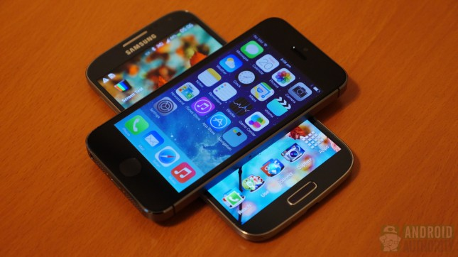 iphone 5s vs galaxy S4 250901