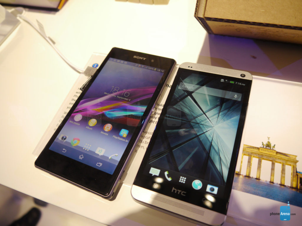 xperia Z1 vs htc one 130901