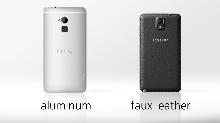 galaxy note 3 vs htc one max 9607