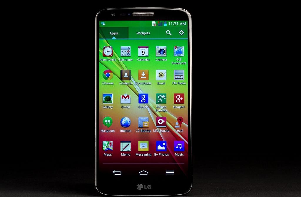test LG G2 10296