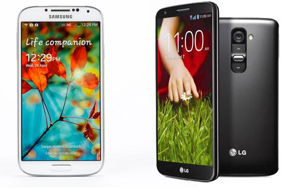 LG G2 vs Galaxy S4 test 01