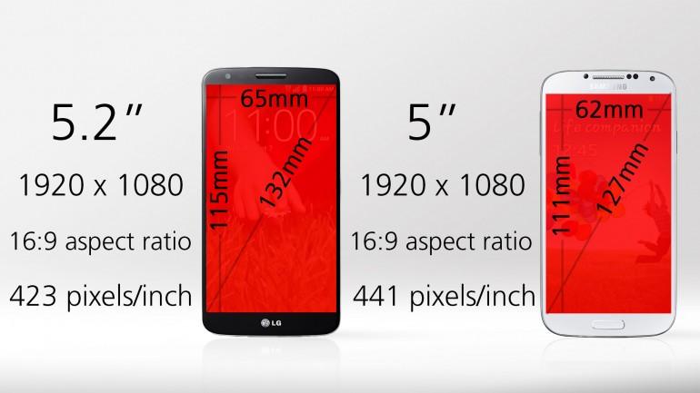 LG G2 vs Galaxy S4 test 11