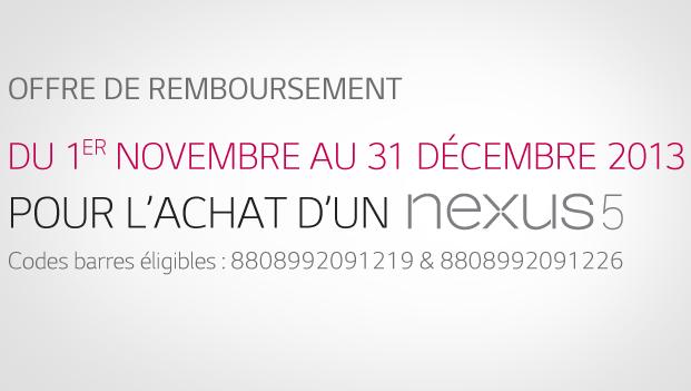 Nexus 5 ODR 1311
