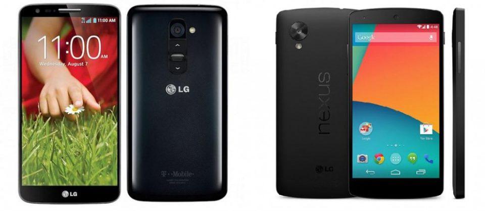 lg g2 vs nexus 5 291101