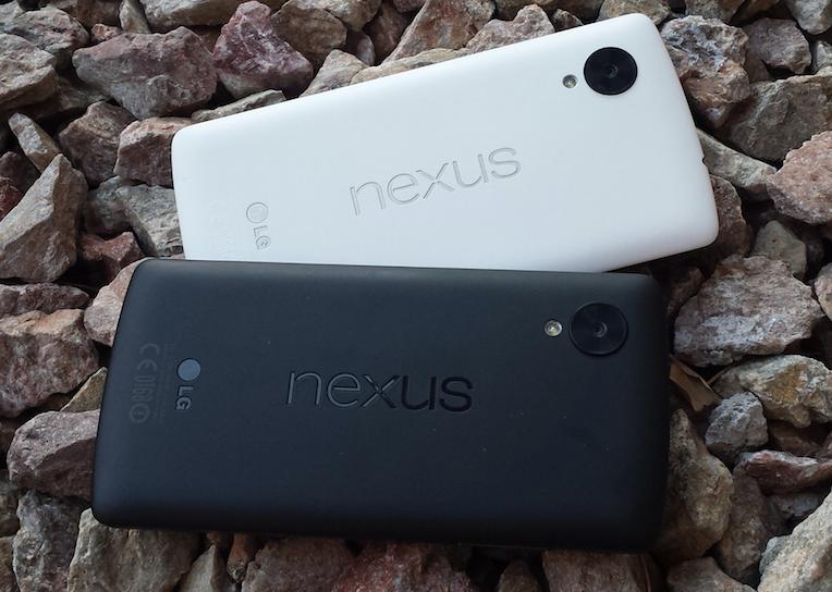 nexus 5 blanc vs nexus 5 noir 0511