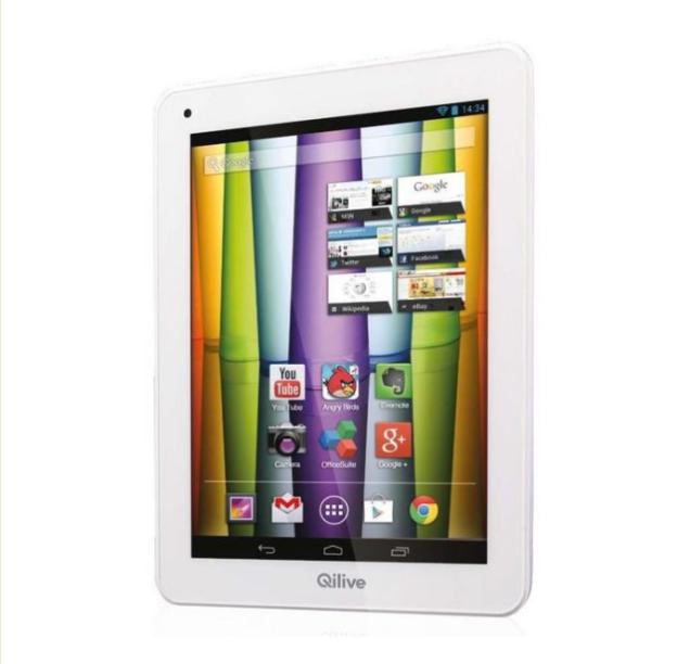 qilive auchan lance des tablettes et smartphones android. Black Bedroom Furniture Sets. Home Design Ideas