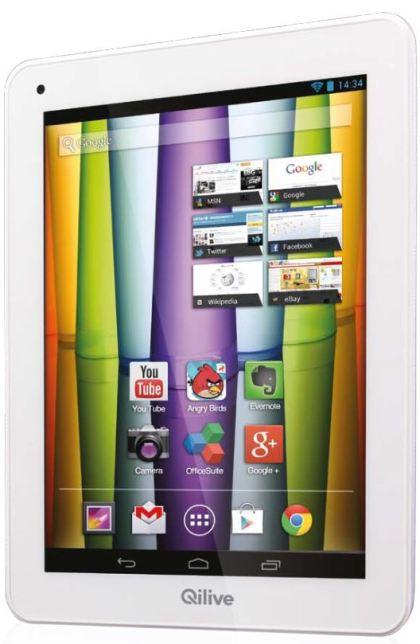 tablette Qilive 9.7 Auchan