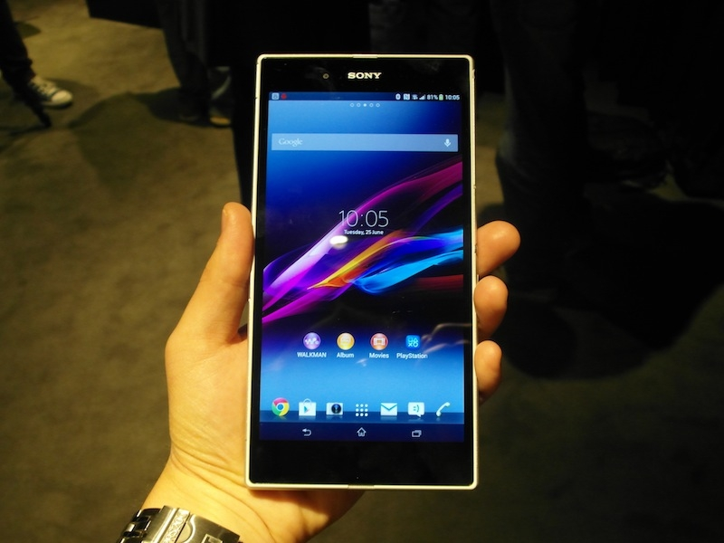 test Sony Xperia Z Ultra design 2