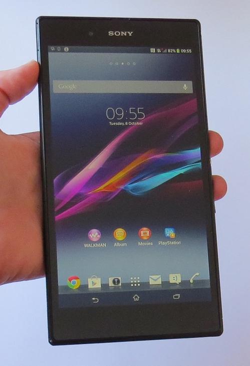 test Sony Xperia Z Ultra design 4