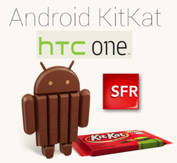 Android 4.4 sur le HTC One