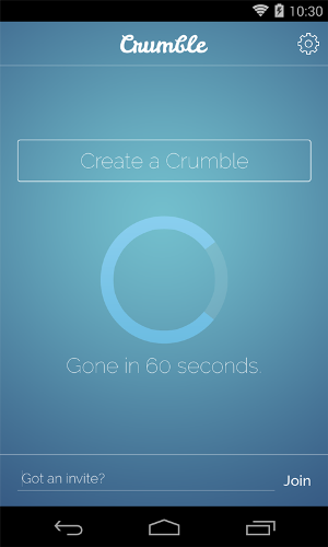 Crumble Messenger