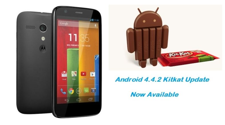 Moto G Android 4.4.2 kitkat