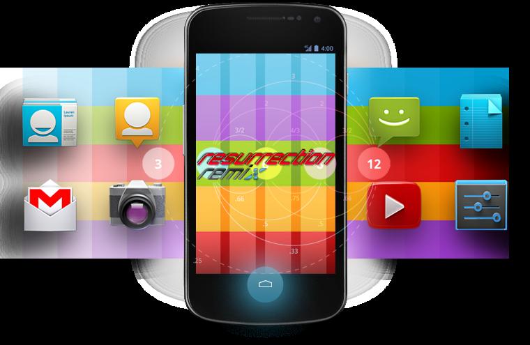 android 4.4.2 sur le galaxy s2 avec ressurection remix