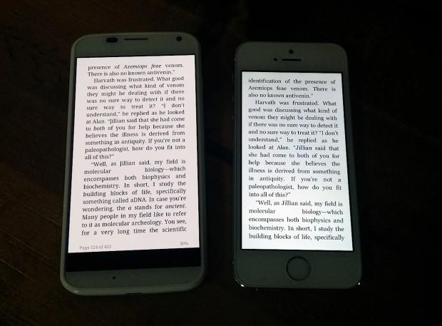 iPhone 5C vs Moto X 270117