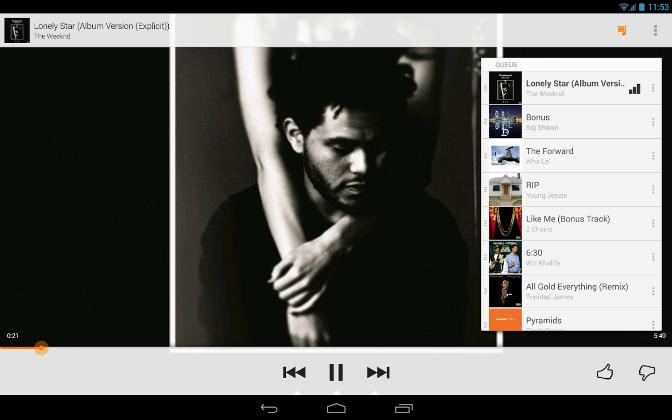 Google Play Musique mise à jour