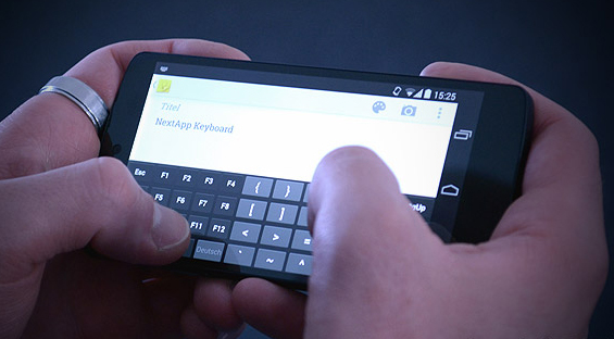 Le nouveau clavier Android Kitkat
