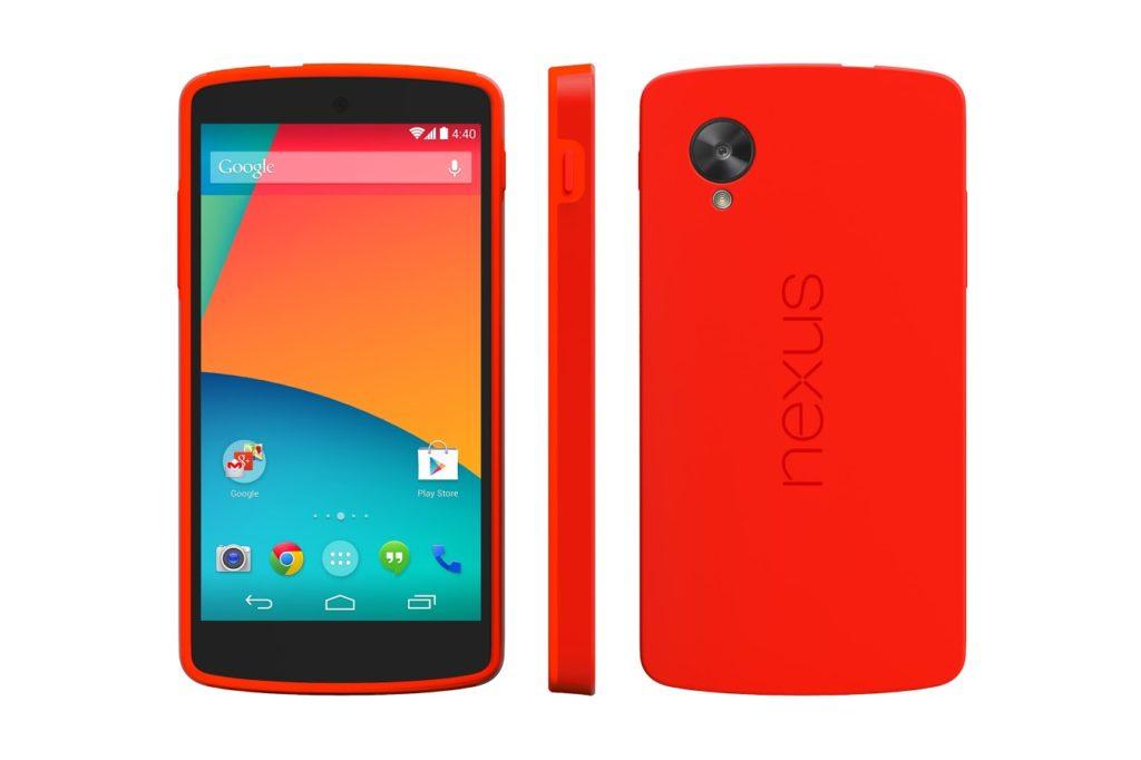 nexus 5 rouge 0502