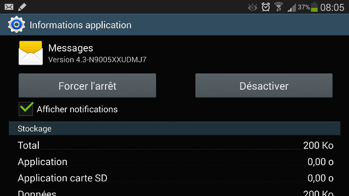 notification Android 20142