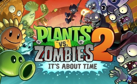 Jeux Android : plants vs zombies 2
