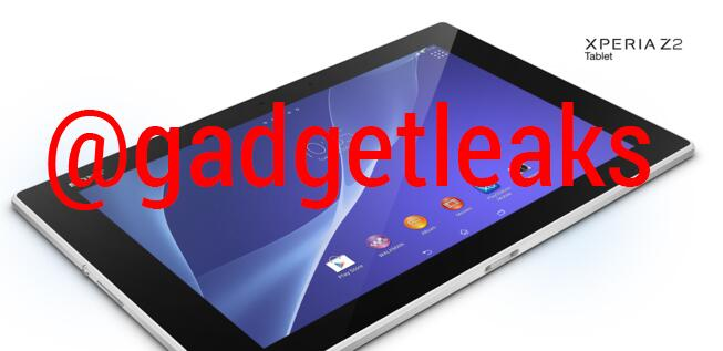 rumeurs tablette sony xperia z2 001