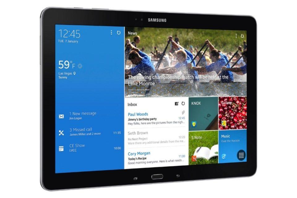 Photo : Galaxy Note Pro 12.2