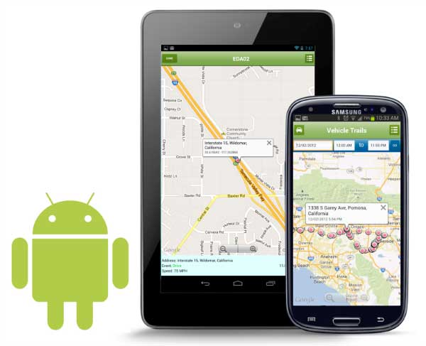 Applications GPS sur Android