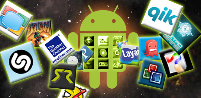 Les applications Android