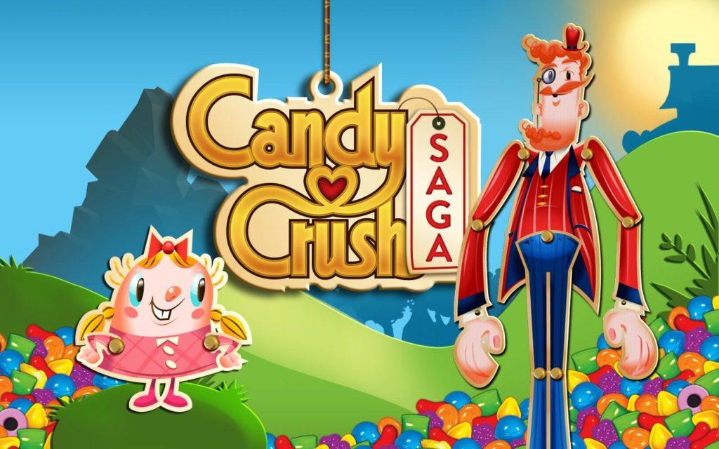 Application : Candy crush saga