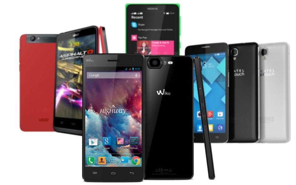 Les smartphones Android