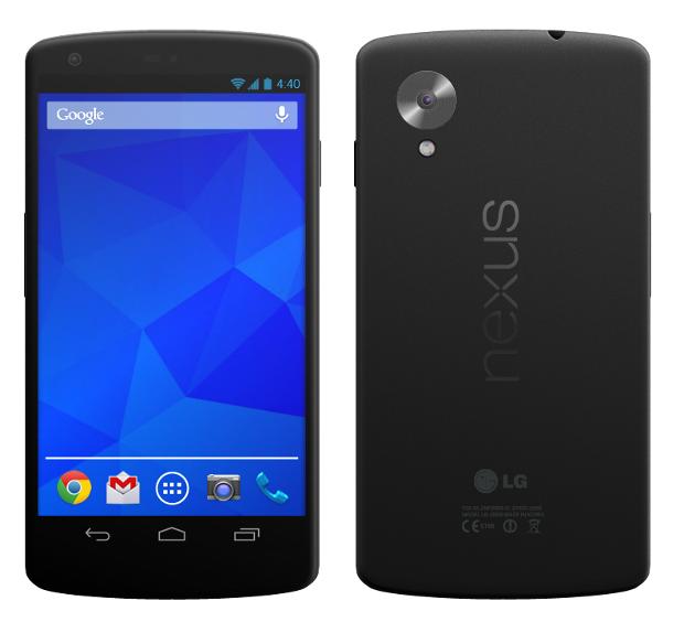 Photo : LG Nexus 5