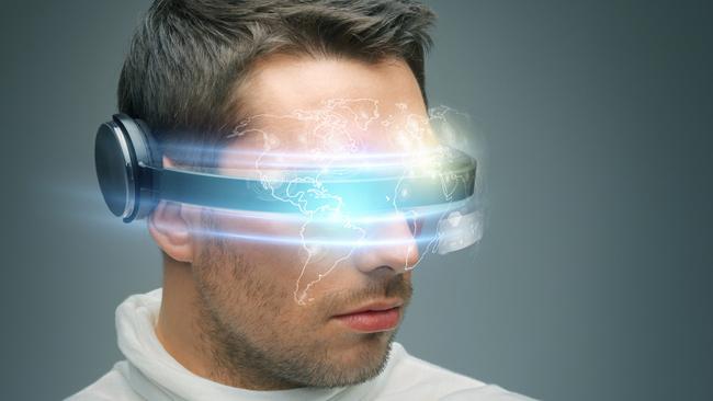 Photo : casque de réalité virtuelle