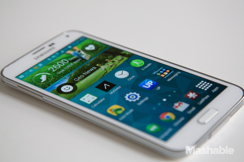 Photo : Samsung Galaxy S5