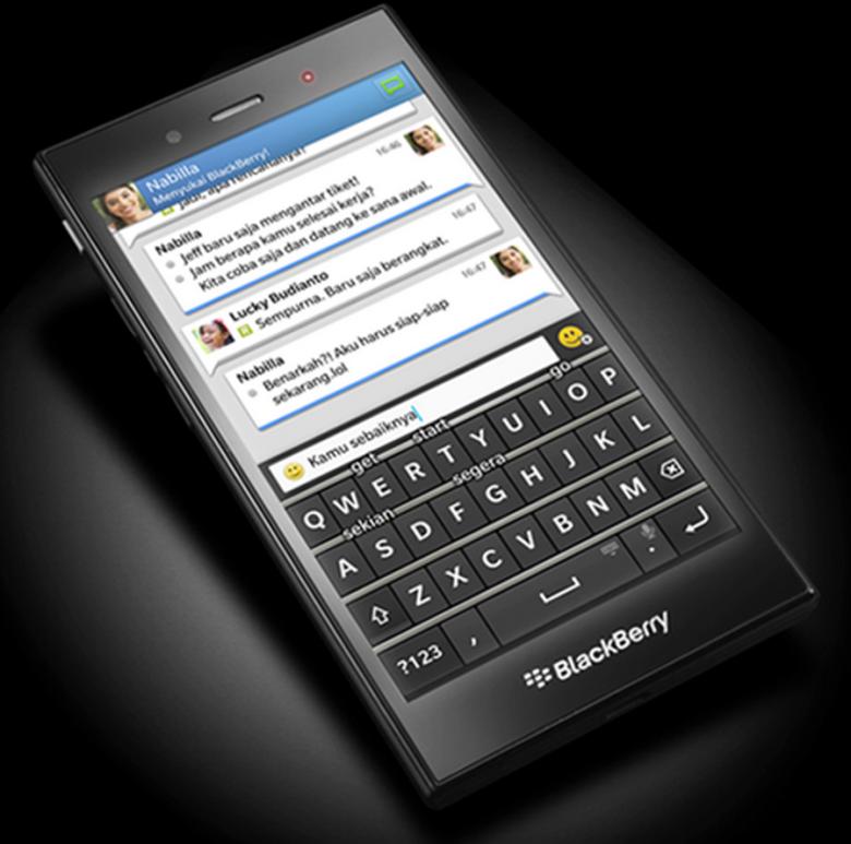 Photo : Blackberry Z3