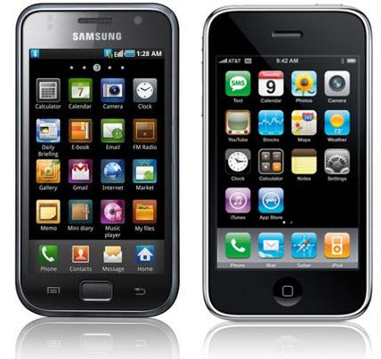Iphone vs Smasung