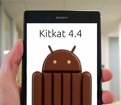 Kitkat et Sony