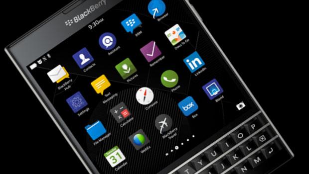 Photo : Blackberry Passport
