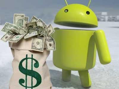 dépenser de l'argent pour Android