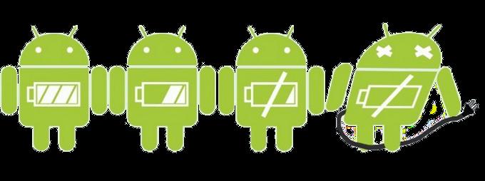 autonomie de votre smartphone Android