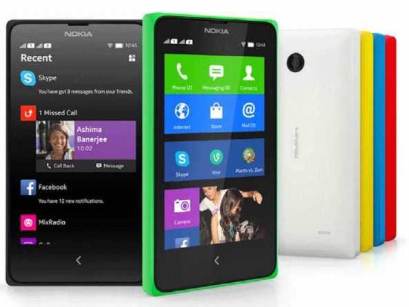 Photo : Nokia X